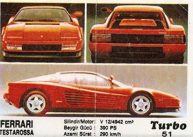 Historyjka Turbo Ferrari